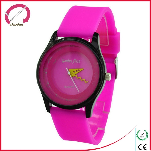 Popular arround the world promotional silicone watch