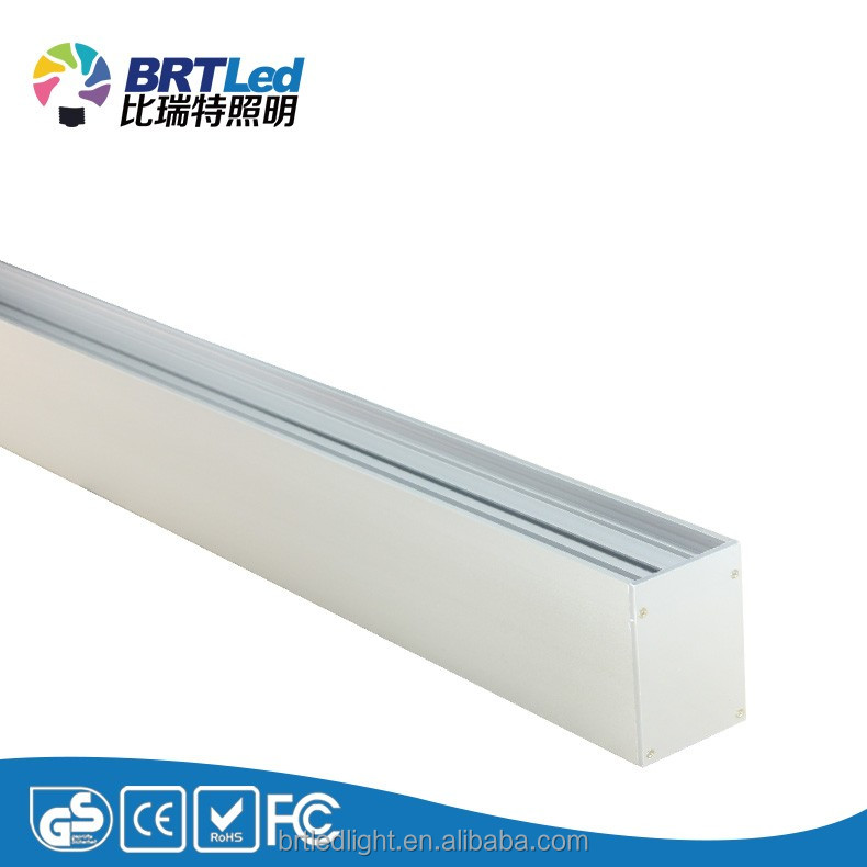 seamless link led linear light up down aluminium ETLListed