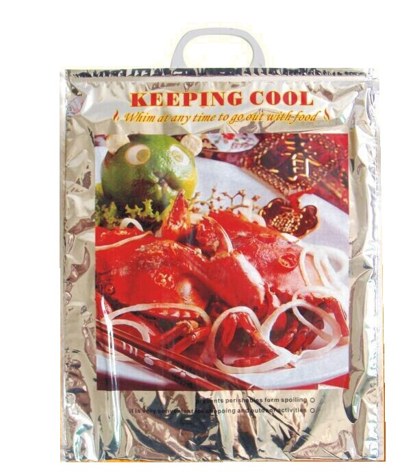 Heat resistant thermal packaging bags for baked roasted chicken