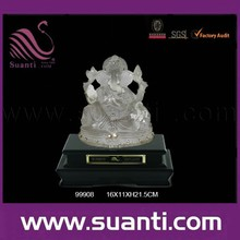 wholesale transparent resin ganesh idols