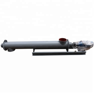 Hot sale 50 feet Tube Pipe Type Auger Type Elevator Grain Screw Conveyor