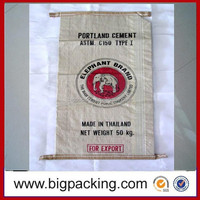 PP Woven Rice/Fertilizer/Feed Bag,low cement price per bag Various Sizes and Colors are available