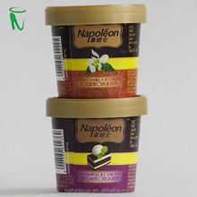 Nature Cup disposable ice cream cup paper bowl with custom logo printed with lids 8 OZ 260ML
