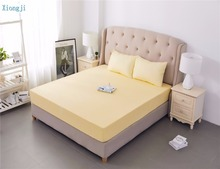 Green Yellow Waterproof Anti-bacteria Bed Sheet