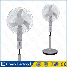 "Fashion style 16"" 18"" 35w ac dc dc motor solar stand air cooler electric fan 12v dc electric fan motors"