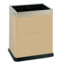 New Product Ground Trash Bin,Recyclable Garbage Bin,Squared Indoor Dustbin