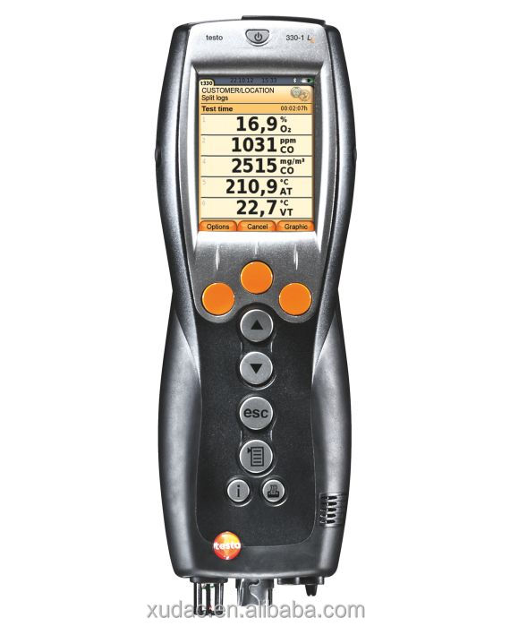 100% New and Original Testo330-1 LL Flue <strong>Gas</strong> Analyzer(<strong>O2</strong> / CO H2) 0632 3306 70