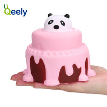 Qeely Decompression Toys Cake Scented Stress Ball