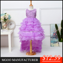 MGOO 2016 New Design Cocktail Dress For Children 12 Years Princess Party Dress Infant Tutu Dress 111-1