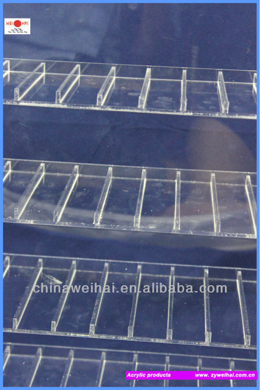 Clear Acrylic Handbag Display Stand