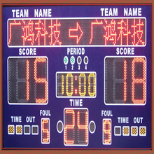 electronic led portable basketball scoreboard from China