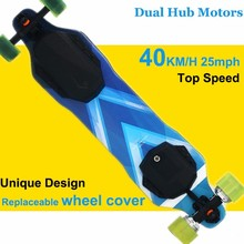 II-527 Motorized Mountain King 6.5kg Hub Motor Dual-Drive Adult Electric Skateboard