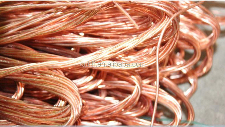 Used in Craft Decoration Recycled Copper Wire Scrap 99.9%