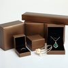 Custom Make Delicate Bracelet and Necklace Jewelry gift Box