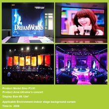 quality aluminium light box excellent-performance rental display for inside high definition p6 indoor full color led screen