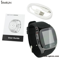 Symrun New Arrival M26 Bluetooth Smart Wrist Watch Phone For Ios Android Phones Free Shipping Smartwatch Phone