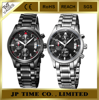 JP Time Mens luxury business fashion fake Chronograph brand watch imitations