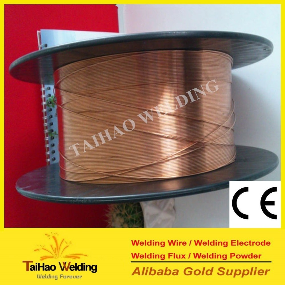 China brazing alloy copper coated steel welding wire ER70S-6 free sample