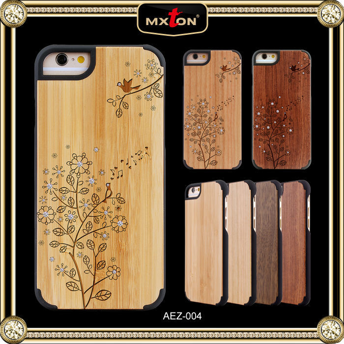 Newest design for iphone 5 wood case, high quality for for iphone 6case, for iphone 6 custom case