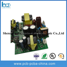 94v0 circuit board pcba pcb assembly manufacturer for car digital tv converter