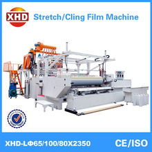 2000mm 5 layers high quality stretch film extruder LLDPE plastic film making machine factory price