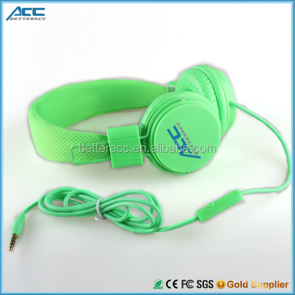 Colorful Brand New Earphone Headphone Headset with Remote Mic for Apple iPhone