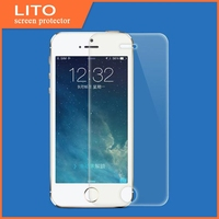 100% bubble free high clear tempered glass screen protector for iphone 4 4s