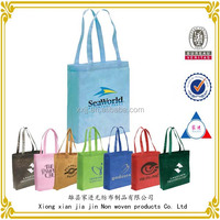 2014 newest customized logo cheap non woven carry tote bag