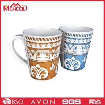 Hotel and restaurant use plastic melamine coffee mug
