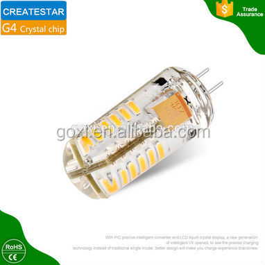 Hot sale Mini G4 led lamp 24pcs 3014 SMD silicon g4 LED 1.5w DC12V