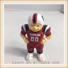 football player model toy 3d model toy action figure