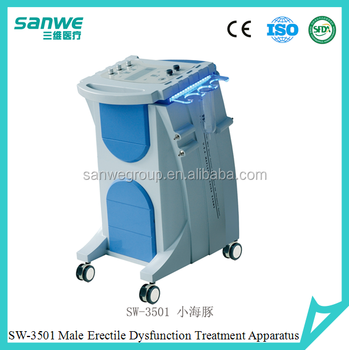 Male sexual dysfunction therapy machine with Vacuum tube