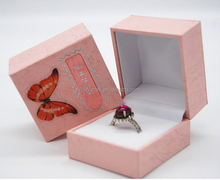 Excellent Brand Offset printing and matte lamination made gift box jewelry