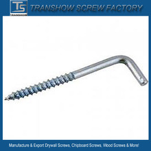 Screw L Type Hook Wood screws for furniture