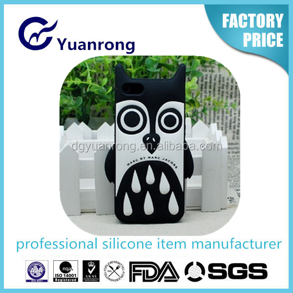 2015 New Cartoon Doggie 3D Silicone Case for iPhone 6/6S