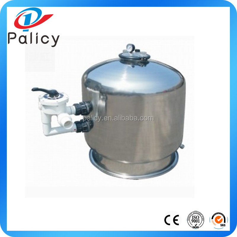 Commercial swimming pool use stainless steel 304 material large size sand filter