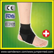 neoprene ankle supporter/ankle immobilizer/ankle sleeve in China
