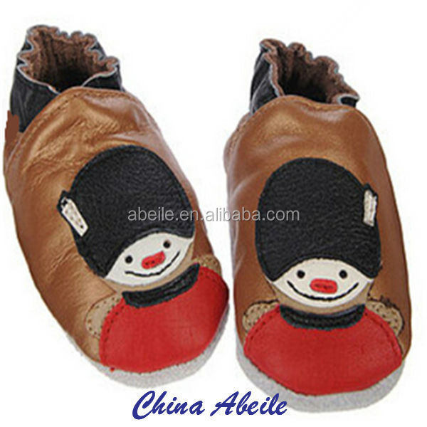 Wholesale baby moccasins Genuine Sheared Sheep Skin Leather Funny Baby Shoes infant Shoes manufacture Small MOQ