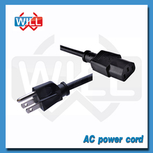 UL CUL approved 125V US power cord NEMA5-15P to C13 plug