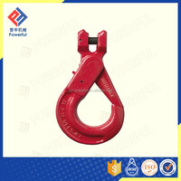 High quality G80 U.S. Type Drop Forged Clevis Self Locking Safty Steel Hook Hot Sale