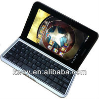 Aluminium Bluetooth Keyboard Case For Samsung Galaxy Tab 2 7.0 P3100 P3110 KKB035