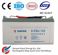 12V 120AH Rechargeable Deep Cycle Gel Battery (CNJ)