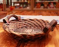 2017 Handmade candy wicker Crafts basket candy dish