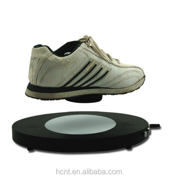 Wholesale shoes men display, HCNT levitating shoes display for advertisement product