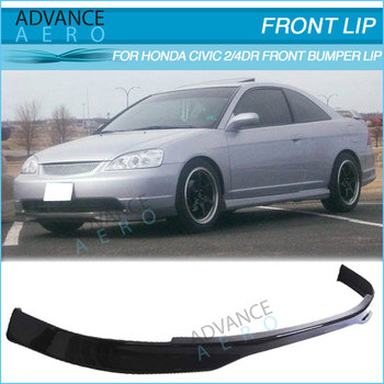 For 01 02 03 honda civic 2 4dr t r style carbon fiber for 03 honda civic 2 door