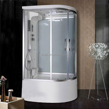 New design luxury indoor freestanding control panel portable glass shower steam shower room with buthtub