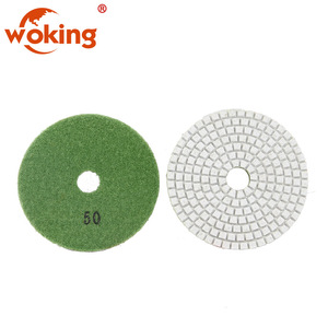 "4"" Dry Wet Granite Diamond Polishing Pads for Angle Grinder"