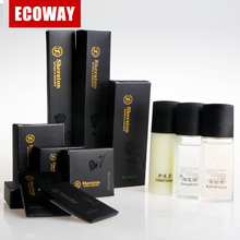 luxury hotel amenities products high quality bathroom toiletries set