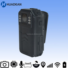 Huadean WIFI Body Camera for Law Enforcement , 1440p super full hd video record