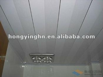 Faux plafond en pvc pour salle de bain buy faux plafond de pvc pour la d coration de salle de - Plafond suspendu insonorisant ...